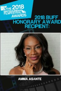 All nominees and script recipients plus Honorary award recipient: Amma Asante