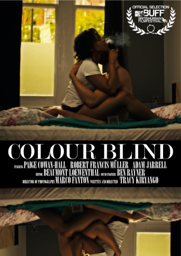 Colour Blind Poster for BUFF 2018 with Laurel