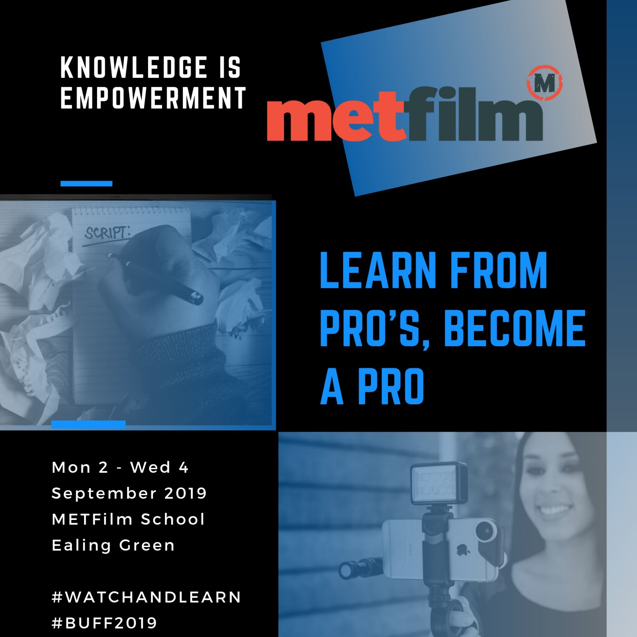 BUFF Filmmakers labs with metfilm