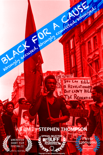 BlackForACause poster March 2018